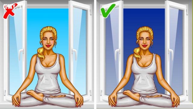 6. Thực hành yoga và thiền định,buổi tối,sống khỏe,việc nên làm