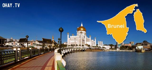 2. Brunei: GDP bình quân: 36.609 USD,Đông Nam Á,GDP,Kinh tế