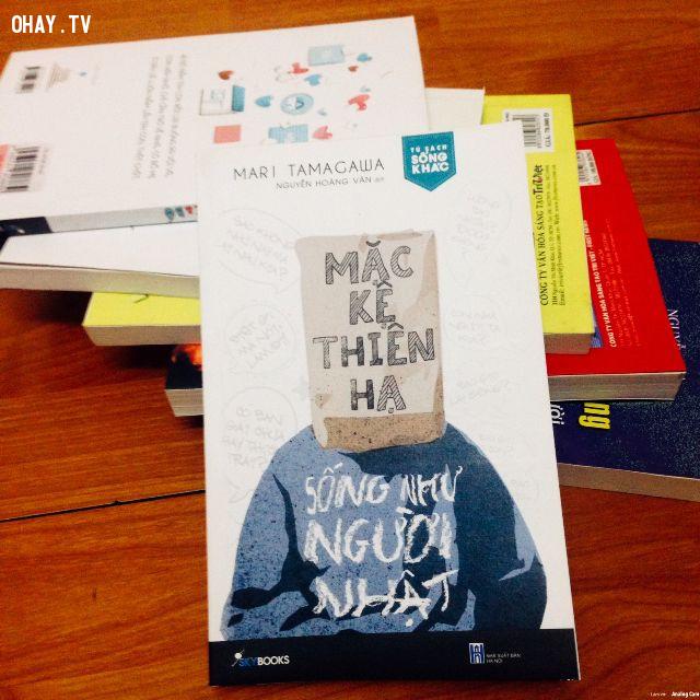 Mặc Kệ Thiên Hạ – Sống Như Người Nhật – Mari Tamagawa,sách hay