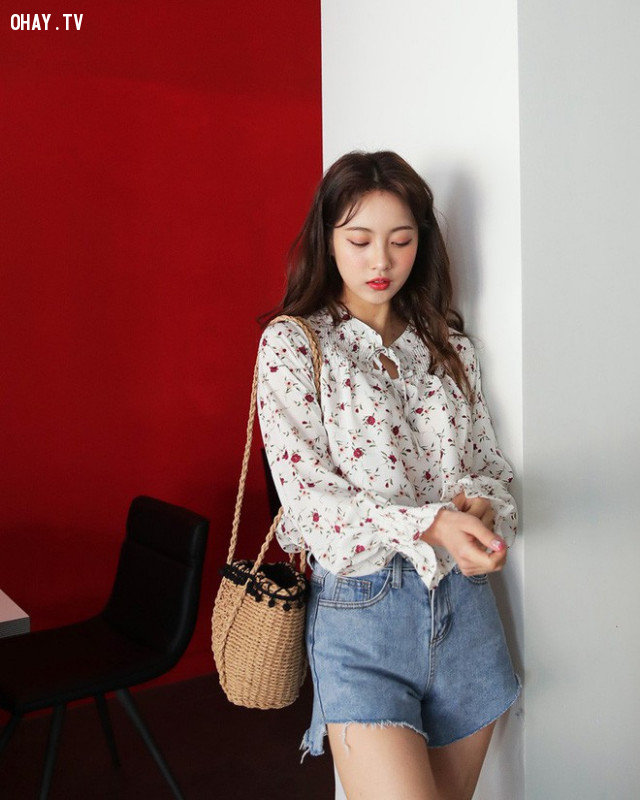 Jean shorts,xu hướng thời trang,thời trang hè