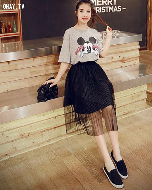 Chân váy tutu,xu hướng thời trang,thời trang hè