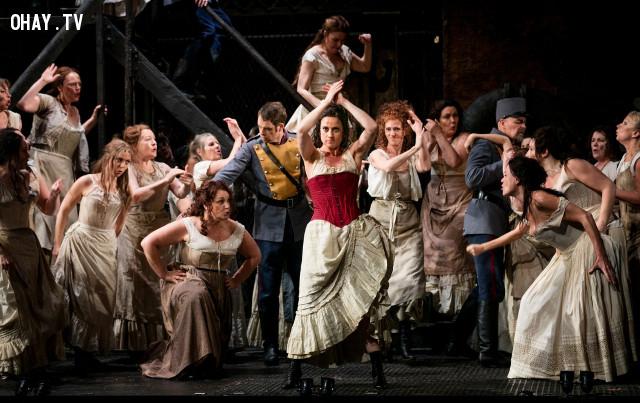 2/ Opera Carmen- Tự do bị giết chết ( Bizet),âm nhạc