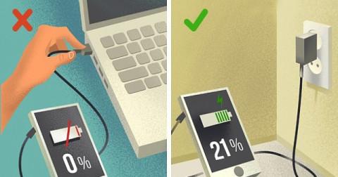 Những thói quen không tốt khiến đồ điện tử nhanh hỏng