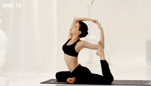 Tập yoga,