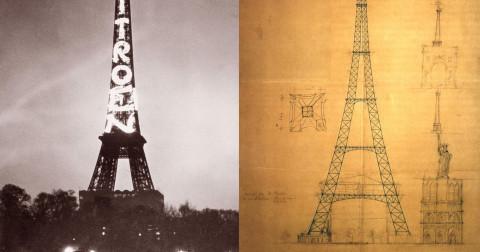 Những điều bạn không biết về tháp Eiffel.