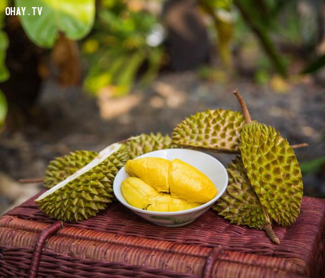 1. Sầu riêng,hoa quả,buổi tối
