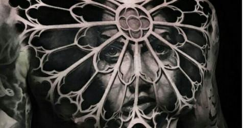 15 hình xăm 3D vừa độc đáo vừa kinh dị nhìn như thật