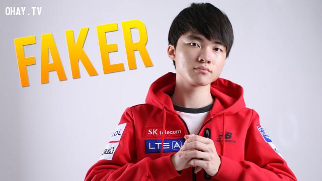 Lee ''Faker'' Sang-hyeok (Mức lương: 1,056,863 USD),