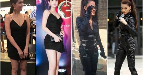 Sự khác biệt giữa ảnh trên Facebook và ảnh bị chụp lén của loạt sao Việt đình đám