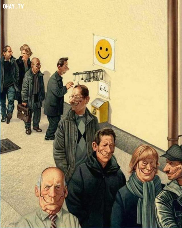 2,ảnh biếm họa,thực trạng cuộc sống,ảnh châm biếm,Gerhard Haderer