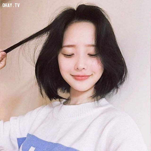 Nghịch tóc,