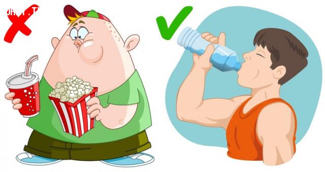 Giảm cân,uống nước