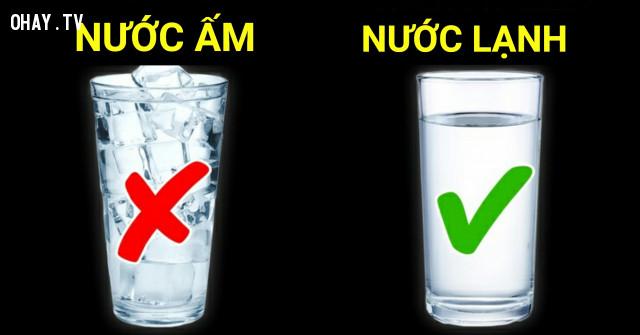 NƯỚC LẠNH,uống nước