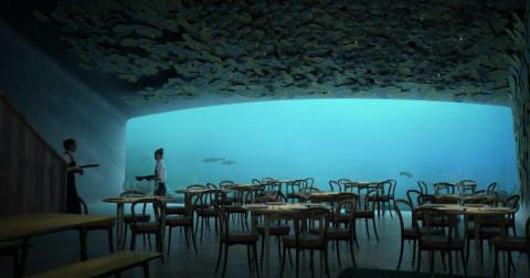 Nhà hàng dưới nước đầu tiên ở Châu Âu