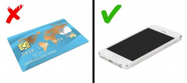 1. Hạn chế trả tiền bằng thẻ tín dụng,mẹo du lịch,du lịch nước ngoài,du lịch dài ngày