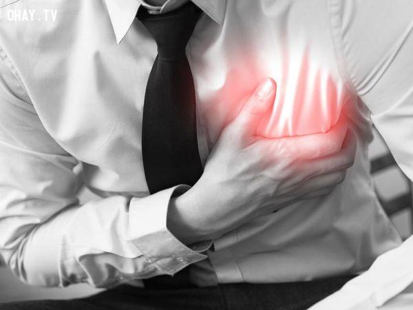 3. Nguy cơ bệnh tim mạch, đột quỵ,thức khuya,sống khỏe