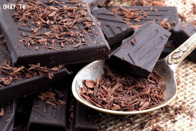 2. Sôcôla đen (Dark Chocolate),lão hóa,thực phẩm tốt cho sức khỏe