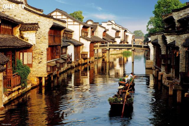 2. Ô Trấn - Chiết Giang,du lịch Trung Quốc,cổ trấn
