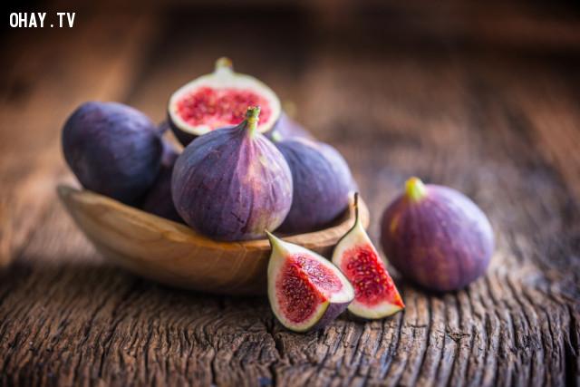 4. Quả sung Mỹ (figs),lão hóa,thực phẩm tốt cho sức khỏe