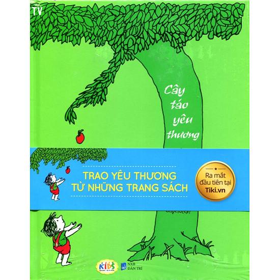 3. The Giving Tree - Cây táo yêu thương (Tác giả Shel Silverstein),sách thiếu nhi,sách hay