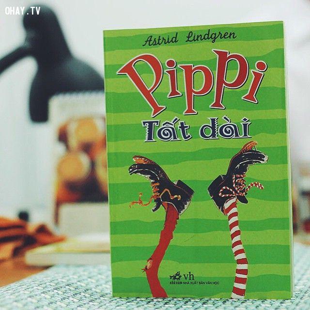 7. Pippi tất dài (Tác giả: Astrid Lindgren),sách thiếu nhi,sách hay