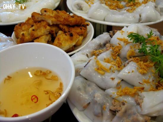 6. Bánh cuốn,du lịch Hà Nội,ăn gì Hà Nội,ăn sáng