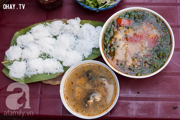 5. Bún ốc,du lịch Hà Nội,ăn gì Hà Nội,ăn sáng