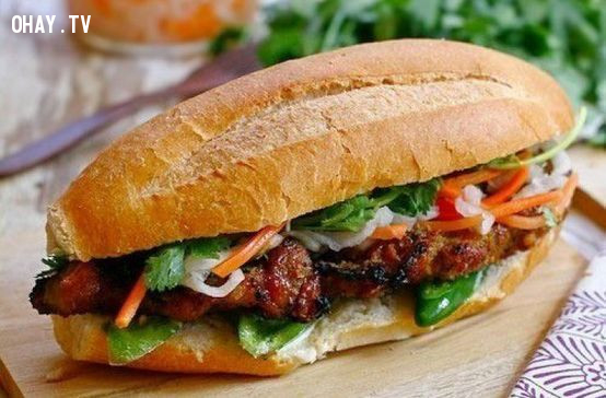 8. Bánh mì          ,du lịch Hà Nội,ăn gì Hà Nội,ăn sáng