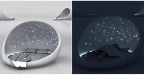 Thư giãn với thiết kế giường độc đáo