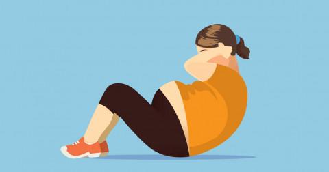 5 bài tập gập bụng diệt gọn mỡ bụng