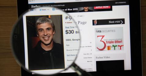 Tại sao nhà sáng lập của Google không nổi tiếng như nhà sáng lập Facebook?