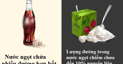 Những sai lầm về thức uống nên tránh
