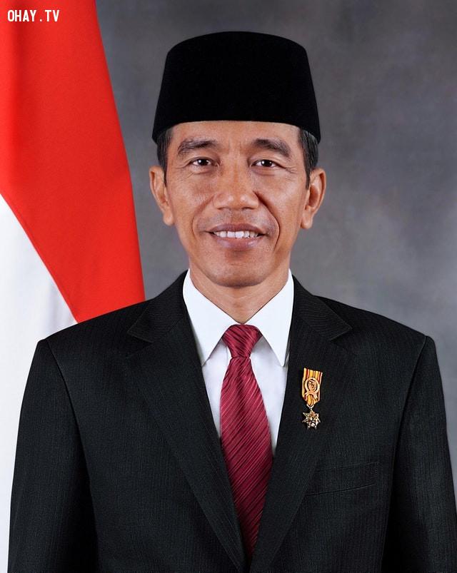 Tổng thống Indonesia nhìn có nét giống Obama nhỉ?