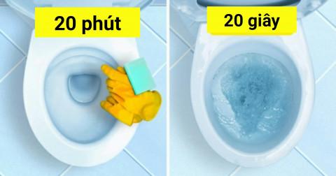 10 cách để làm sạch nhà chỉ trong vài phút