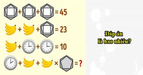 Thử thách IQ của bạn với 5 câu đố trí tuệ - Phần 3
