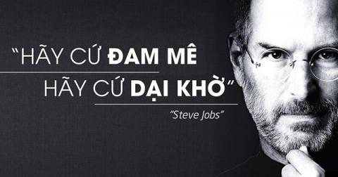 Steve Jobs chia sẻ 2 yếu tố đặc biệt giúp bạn khởi nghiệp thành công.