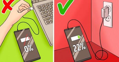 9 Sai lầm khi sạc pin khiến thiết bị nhanh hỏng, 90% người dùng đều mắc phải