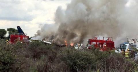 Máy bay bị rơi - 103 người  thoát nạn.