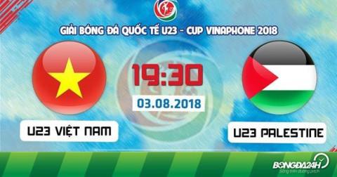 U23 Việt Nam giành chiến thắng trong trận đấu mở màn với đội tuyển U23 Palestine - chiến thuật thay đổi số áo cầu thủ