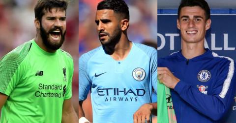 Top 10 thương vụ chuyển nhượng đắt giá nhất Premier League hè 2018