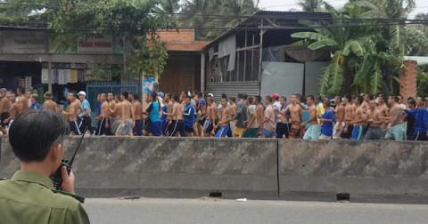 ( Nóng) Hàng trăm học viên cai nghiện trốn trại.