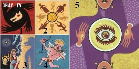 Hãy chọn ngẫu nhiên 1 trong 5 lá bài Ma Sói dưới đây, điều đó sẽ nói lên vận mệnh và tính cách tiềm ẩn của bạn.