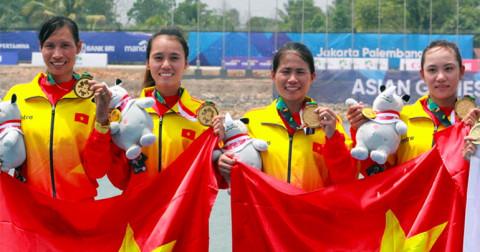 Việt Nam có huy chương vàng đầu tiên tại ASIAD 2018