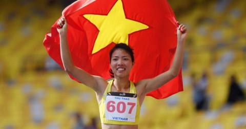 Việt Nam giành HC vàng điền kinh đầu tiên trong lịch sử tham dự ASIAD