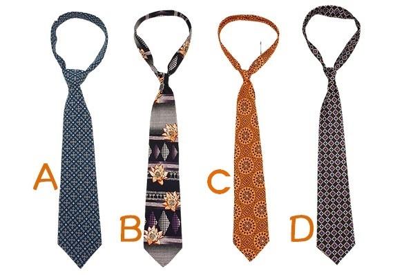 Bạn chọn cà vạt nào?