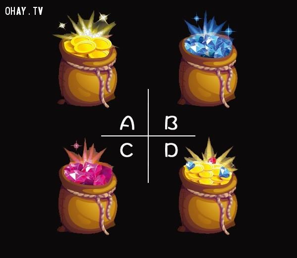 Bạn chọn hũ châu báu nào?