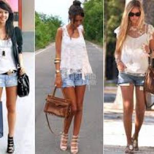 quần jean ngắn năng động , cá tính