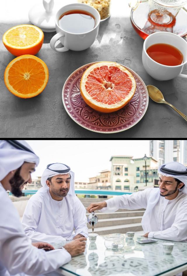 1. Ở Dubai và Kazakhstan, khách được đón tiếp ân cần bằng một nửa tách trà,du lịch nước ngoài,điều cấm kỵ,quy tắc ăn uống