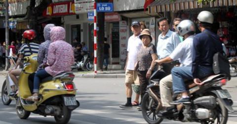 Văn hóa giao thông - Văn hóa nhường đường
