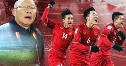 Đội tuyển Việt Nam hiện đang xếp hạng thứ 139 thế giới, sau Thái Lan 36 bậc